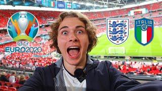 I WENT TO THE EURO 2020 FINAL: England vs Italy, KSI, & The Fifth & Final HITC Sevens Vlog