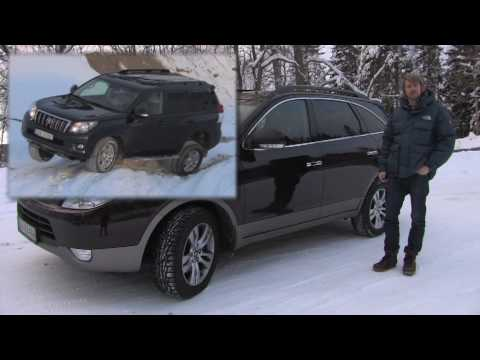 new hyundai ix55 luxury suv tested in norway youtube. Black Bedroom Furniture Sets. Home Design Ideas