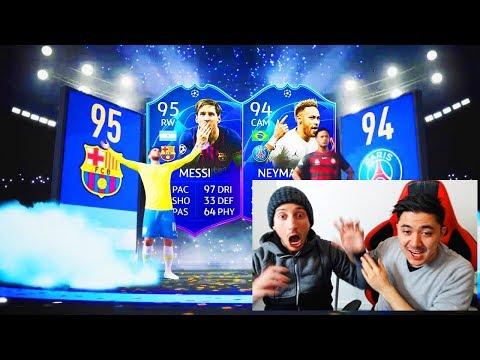 IO E DEXTER APRIAMO I PACCHETTI DI NATALE FUTMAS!! PACK OPENING FIFA 19 thumbnail