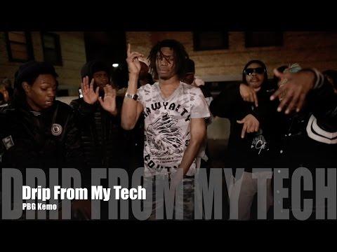 PBG Kemo - Drip From My Tech (Music Video)