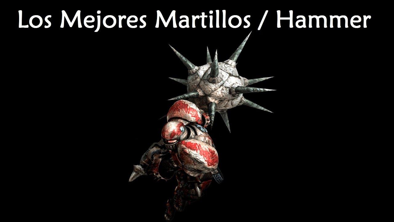 Masa Guía] Monster Hunter 4 Ultimate - Los Mejores Martillos / The ...