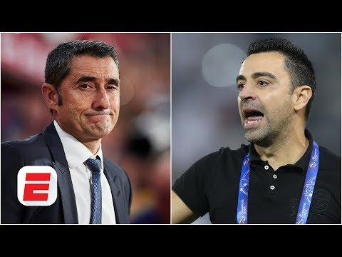 Could Xavi replace Ernesto Valverde as Barcelona manager? | La Liga