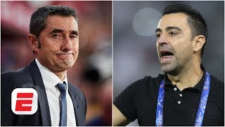Gab marcotti and julien laurens debate whether ex-barcelona player xavi should take over for ernesto valverde as barcelona manager. also...