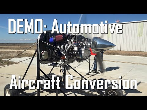 FULL DEMO! V8 Auto Engine with PSRU's Geared Drive for
