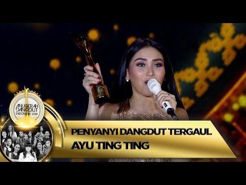 Selamat! Ayu Ting Ting Terpilih Menjadi Penyanyi Dangdut Tergaul 2018 - ADI 2018 (16/11)