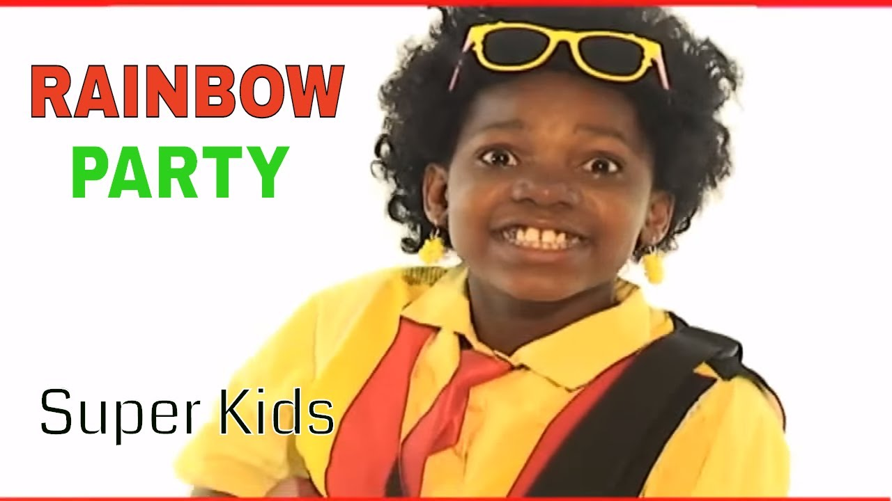Super kids - Rainbow Party (Official Video) - YouTube