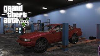 GTA 5 Real Hood Life #30 Custom Car Shop & 96 Impala on 28s! (GTA 5 Hood Life Mods)