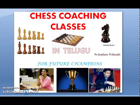 Telugu chess lessons 9 king rules