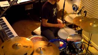 """Turned Away"" Snarky Puppy w. Tony Scherr (Drum Cover)"