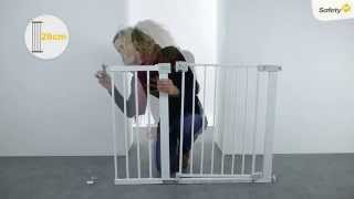 Safety 1st Auto Close Gate Installation Video