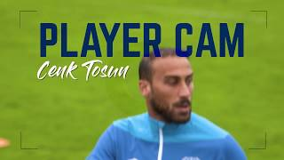 PLAYER CAM: CENK TOSUN ON FIRE IN TRAINING!