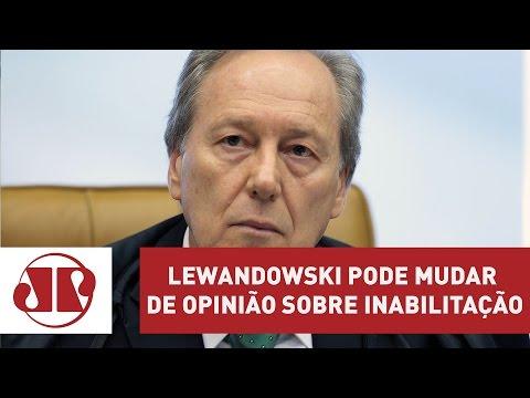 Lewandowski pode mudar de opinião sobre inabilitação | José Maria Trindade | Jovem Pan