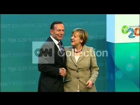 AUSTRALIA: G20 WORLD LEADERS ARRIVALS