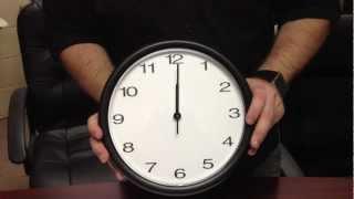 Wall Clock Assembly