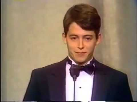 Matthew Broderick wins 1983 Tony Award for Best Featured Actor in a Play
