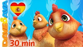 👍 La Canción de los Animales de la Granja | Dave and Ava | Canciones para Niños 👍