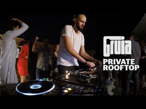 Gruia @ Party On The Roof - Bucharest, July 2017