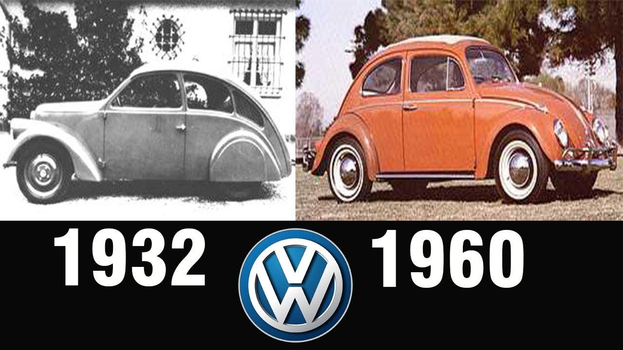 evolution  volkswagen beetle   youtube