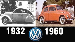 The Evolution Of VOLKSWAGEN BEETLE (1932-1960)