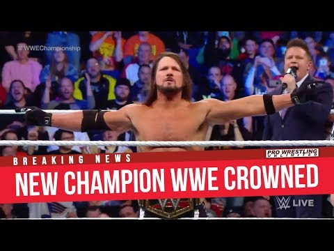 BREAKING NEWS: New WWE Champion Crowned On Smackdown Live
