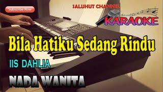 RINDU ll KARAOKE ll IIS DAHLIA ll NADA WANITA B=DO