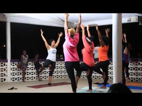 Yoga in the Park Dangriga April 3, 2015