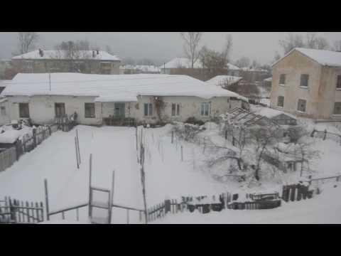 Димитровград Ульяновской области зимой