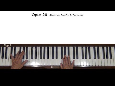 Dustin O'Halloran Opus 20 (from Breathe In) Piano Tutorial