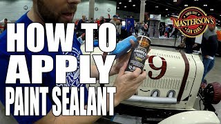 How To Protect Your Car's Paintwork - Masterson's Shield Paint Sealant & Protectant
