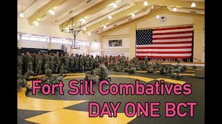 Fort Sill Combatives Day One thumbnail