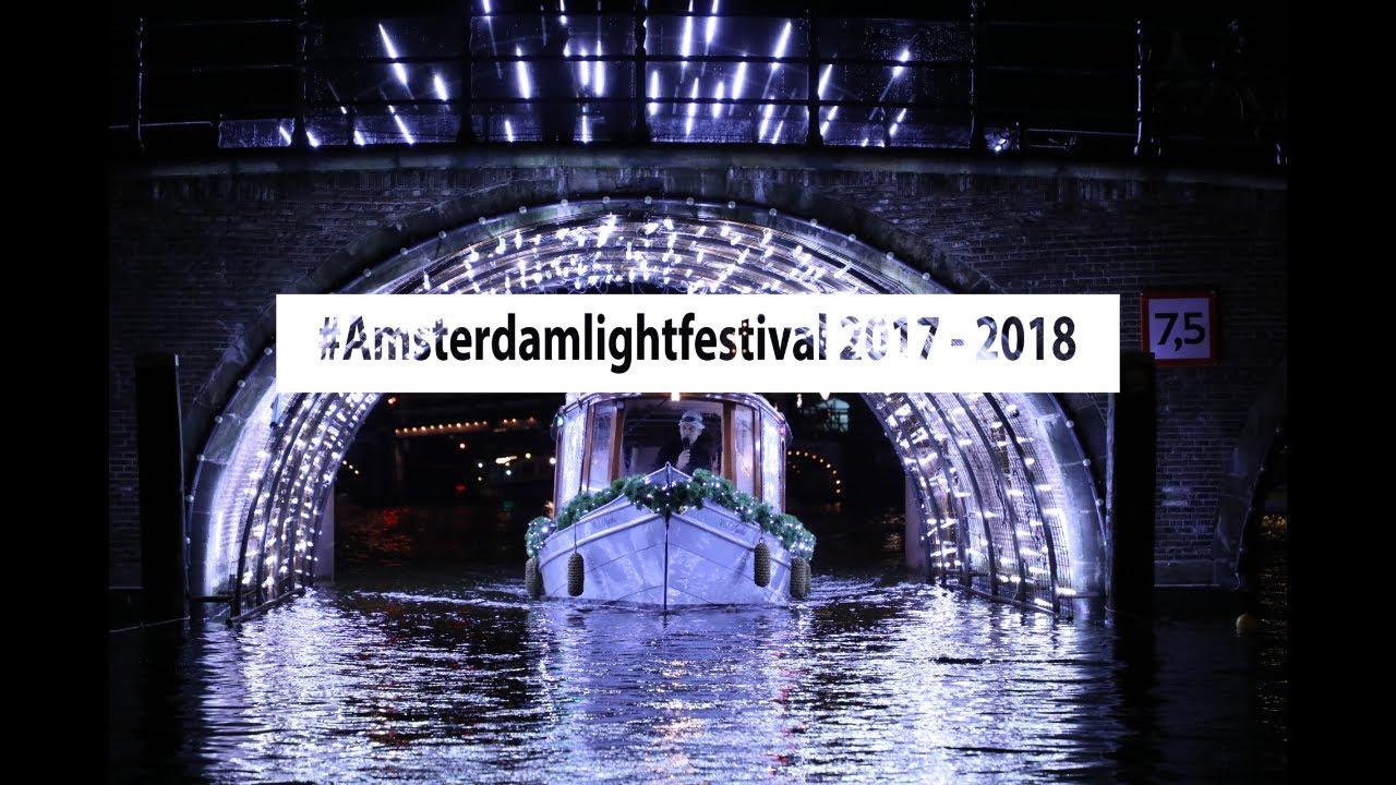 Amsterdam light festival map