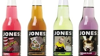 Qreviews Jones Candy Cane Soda Plus Top 3 Energy Drinks