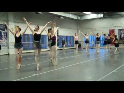 Snow Rehearsal - Colorado Ballet