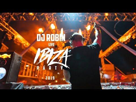DJ ROBIN Live   Ibiza Party 2019 / Motel Kamenec