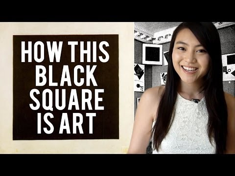 Why this Black Square is Art! Kazimir Malevich's Suprematism | LittleArtTalks
