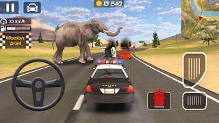 ألعاب السيارات للأطفال - سيارة شرطة - ألعاب السيارات للأطفال - سيارات اطفال - e#16 - KIDS CARS