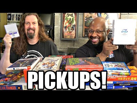 GAME PICKUPS w/ Reggie - 44 more games in the Collections!