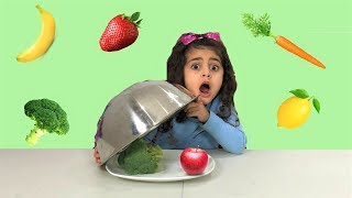 Learn and Play with Colors Healthy Food!! Nursery Rhymes songs for children