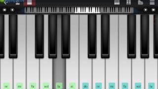 بيانولا | تعليم عزف موسيقى أغنية لو كان بخاطرى