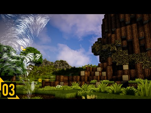 Society of Wolves | Creative Minecraft | E03 | Tree Of Eden & Flag Design