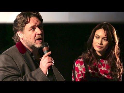 """Russell Crowe et Olga Kurylenko parlent de """"La Promesse d"""