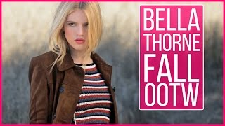 Bella Thorne's Perfect Fall OOTDs | Behind the Scenes at her Cover Shoot