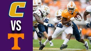 Week 3 College Football Chattanooga vs Tennessee Full Game Highlights 9/14/2019
