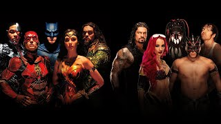 WWE Superstars team up with DC's Justice League