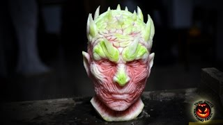 The Night King - Best Watermelon Carving - Game Of Thrones(Second tribute to grandpa Martin. This time it took me about 18 hours to carve this watermelon. ITA: Secondo omaggio ai libri del nonno Martin, questa volta ho ..., 2016-05-31T12:15:22.000Z)
