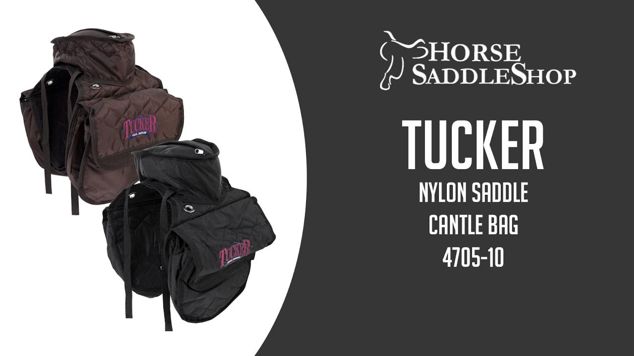 Tucker Saddle Cantle Bag-Tucker Logo-Nylon 4705-10