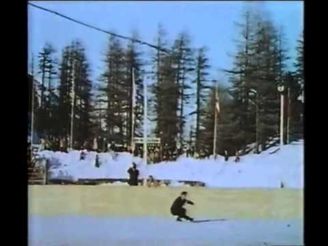 Dick Button 1948 Olympics Montage