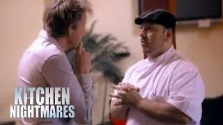 Gordon Tells Chef He Can't Cook - Kitchen Nightmares
