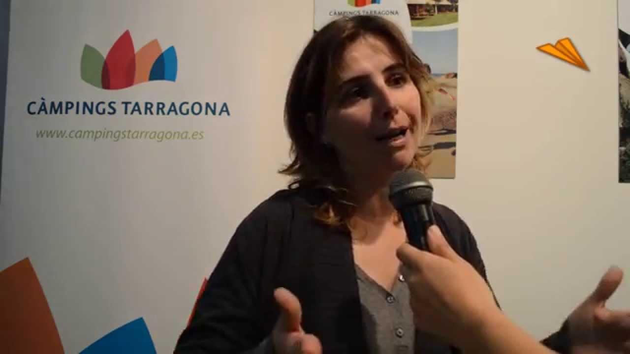 berta cabr presidenta de la asociaci n de campings de tarragona