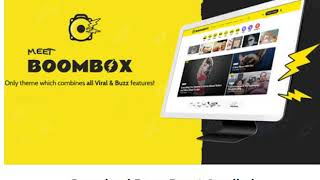 Download BOOMBOX 1.8 Viral Magazine WordPress Theme Nulled